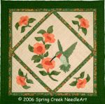 Hummingbird Quilt Pattern
