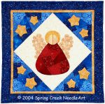 Patchwork Angel Quilt Pattern