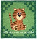 Tomas Tiger Quilt Pattern