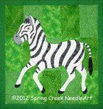 Zoe Zebra Quilt Pattern