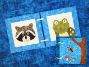 Whimsical Woodland Faces Quiet Book