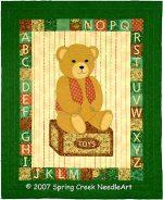 Barney Bear Quilt Pattern