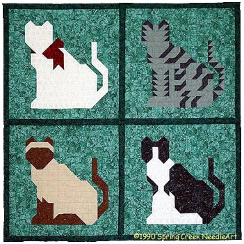 The Kitty Blocks Quilt Pattern