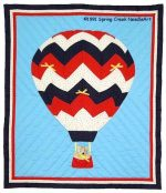Up & Away quilt pattern