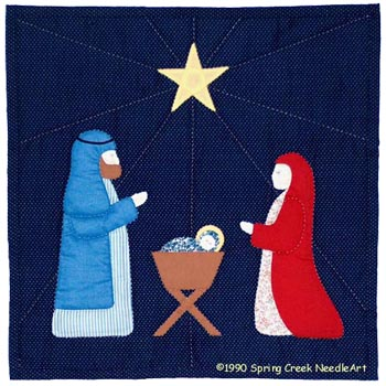 Nativity Quilt Pattern