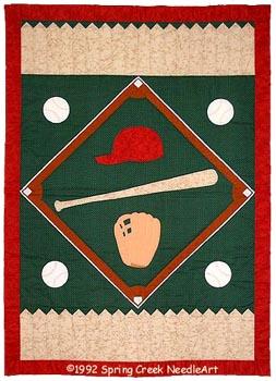 Baseball Quilt pattern