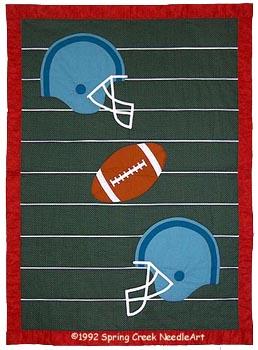 Football Quilt pattern
