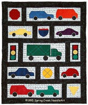 Road Trip quilt pattern