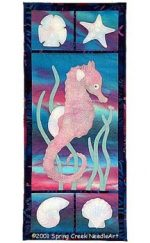 Sea Horse Quilt Pattern