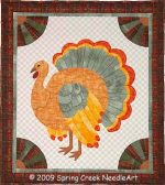 Fall Fans and Feathers Quilt Pattern