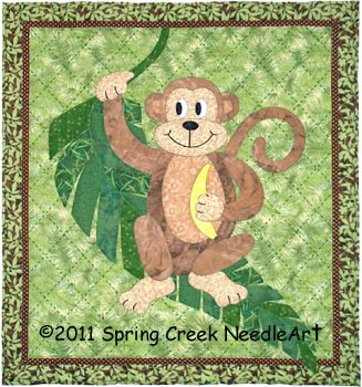 Mortimer Monkey Quilt Pattern